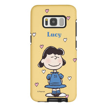 Load image into Gallery viewer, Galaxy S8 Plus Case PEANUTS Layered Hybrid [TPU + PC] Bumper Cover - Lucy Heart Stand