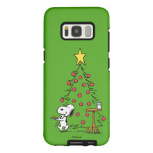 Load image into Gallery viewer, Galaxy S8 Plus Case PEANUTS Layered Hybrid [TPU + PC] Bumper Cover - Christmas Cookie Snoopy