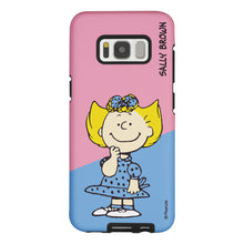 Load image into Gallery viewer, Galaxy S8 Plus Case PEANUTS Layered Hybrid [TPU + PC] Bumper Cover - Diagonal Sally