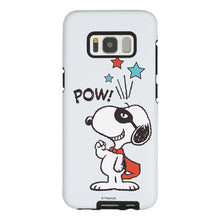 Load image into Gallery viewer, Galaxy S8 Case (5.8inch) PEANUTS Layered Hybrid [TPU + PC] Bumper Cover - Snoopy Pow Mint