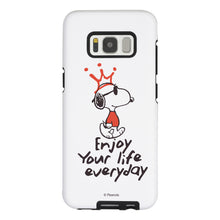 Load image into Gallery viewer, Galaxy S8 Case (5.8inch) PEANUTS Layered Hybrid [TPU + PC] Bumper Cover - Snoopy Crown