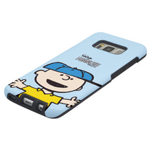 Load image into Gallery viewer, Galaxy S8 Case (5.8inch) PEANUTS Layered Hybrid [TPU + PC] Bumper Cover - Face Charlie Brown