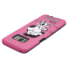 Load image into Gallery viewer, Galaxy S8 Plus Case PEANUTS Layered Hybrid [TPU + PC] Bumper Cover - Cute Snoopy Lucy