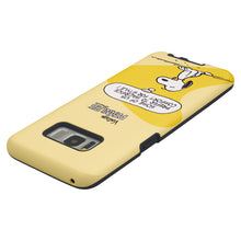 Load image into Gallery viewer, Galaxy S8 Case (5.8inch) PEANUTS Layered Hybrid [TPU + PC] Bumper Cover - Cartoon Snoopy Style