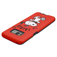 Load image into Gallery viewer, Galaxy S8 Plus Case PEANUTS Layered Hybrid [TPU + PC] Bumper Cover - Snoopy Lalala