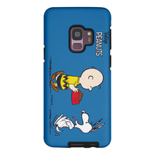 Load image into Gallery viewer, Galaxy S9 Case (5.8inch) PEANUTS Layered Hybrid [TPU + PC] Bumper Cover - Cute Snoopy Food