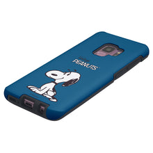 Load image into Gallery viewer, Galaxy S9 Case (5.8inch) PEANUTS Layered Hybrid [TPU + PC] Bumper Cover - Simple Snoopy