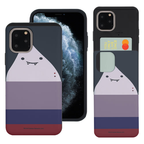 iPhone 11 Pro Max Case (6.5inch) Adventure Time Slim Slider Card Slot Dual Layer Holder Bumper Cover - Marceline Abadeer