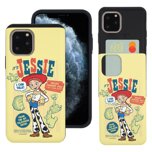 iPhone 11 Case (6.1inch) Toy Story Slim Slider Card Slot Dual Layer Holder Bumper Cover - Full Jessie
