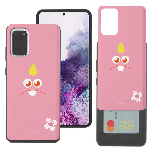 Galaxy Note20 Case (6.7inch) Monsters University inc Slim Slider Card Slot Dual Layer Holder Bumper Cover - Face George Hairless
