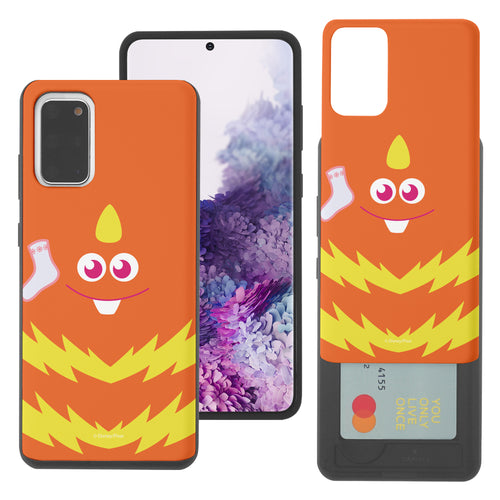 Galaxy Note20 Case (6.7inch) Monsters University inc Slim Slider Card Slot Dual Layer Holder Bumper Cover - Face George Socks