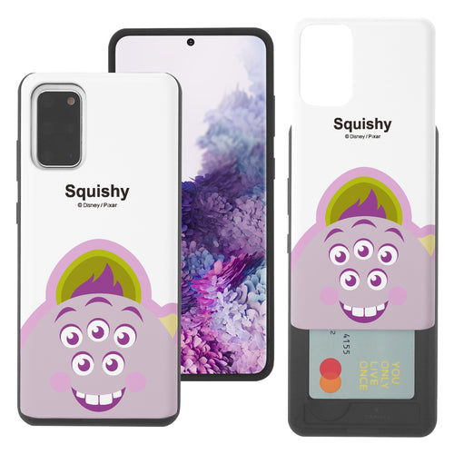 Galaxy Note20 Case (6.7inch) Monsters University inc Slim Slider Card Slot Dual Layer Holder Bumper Cover - Big Squishy