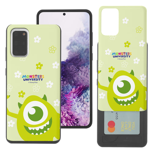 Galaxy Note20 Case (6.7inch) Monsters University inc Slim Slider Card Slot Dual Layer Holder Bumper Cover - Full Mike