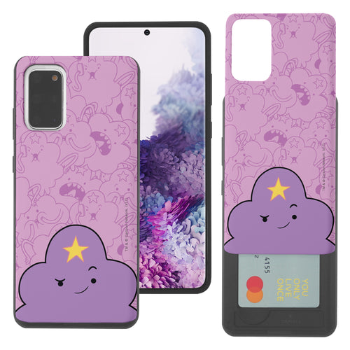 Galaxy Note20 Ultra Case (6.9inch) Adventure Time Slim Slider Card Slot Dual Layer Holder Bumper Cover - Pattern Lumpy Big