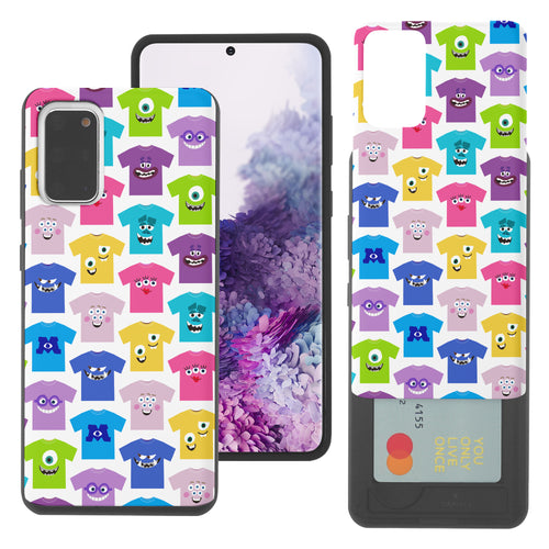 Galaxy Note20 Case (6.7inch) Monsters University inc Slim Slider Card Slot Dual Layer Holder Bumper Cover - Pattern Shirts