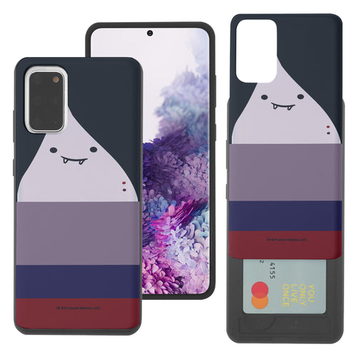 Galaxy Note20 Ultra Case (6.9inch) Adventure Time Slim Slider Card Slot Dual Layer Holder Bumper Cover - Marceline Abadeer