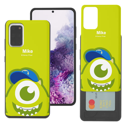 Galaxy Note20 Case (6.7inch) Monsters University inc Slim Slider Card Slot Dual Layer Holder Bumper Cover - Big Mike