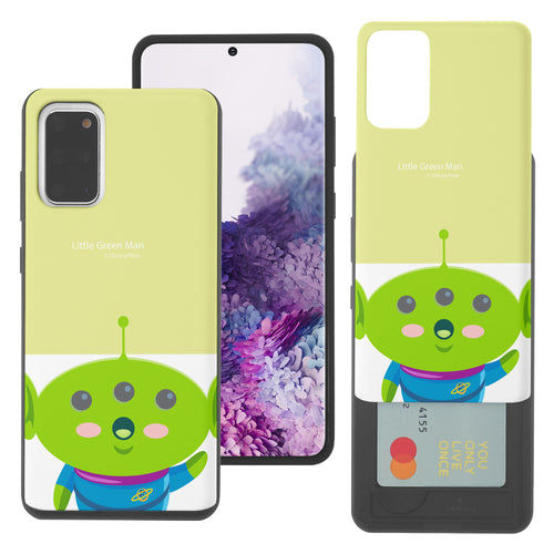 Galaxy S20 Plus Case (6.7inch) Toy Story Slim Slider Card Slot Dual Layer Holder Bumper Cover - Baby Alien