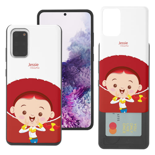 Galaxy S20 Plus Case (6.7inch) Toy Story Slim Slider Card Slot Dual Layer Holder Bumper Cover - Baby Jessie