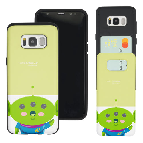 Galaxy S8 Plus Case Toy Story Slim Slider Card Slot Dual Layer Holder Bumper Cover - Baby Alien