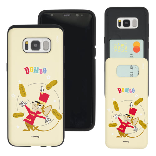 Galaxy Note5 Case Disney Dumbo Slim Slider Card Slot Dual Layer Holder Bumper Cover - Dumbo Timothy