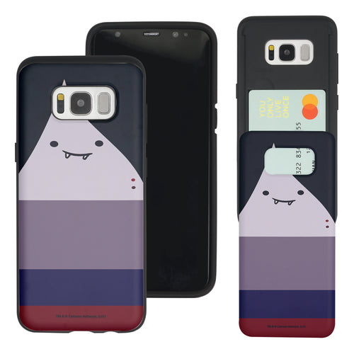 Galaxy S7 Edge Case Adventure Time Slim Slider Card Slot Dual Layer Holder Bumper Cover - Marceline Abadeer