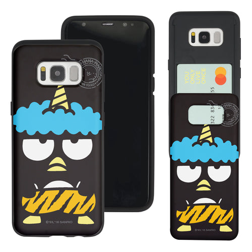 Galaxy Note5 Case Sanrio Slim Slider Card Slot Dual Layer Holder Bumper Cover - Bad Badtz-Maru Goblin