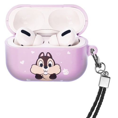 Disney AirPods Pro Case Neck Lanyard Hard PC Shell Strap Hole Cover - Chip