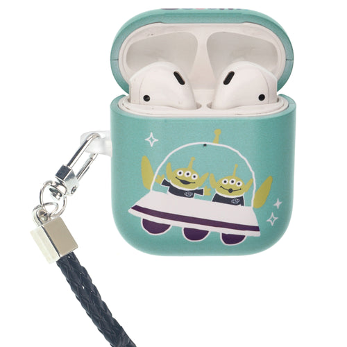 Toy Story 4 AirPods Case Neck Lanyard Protective Hard PC Shell Strap Hole Cover - Cute Ufo