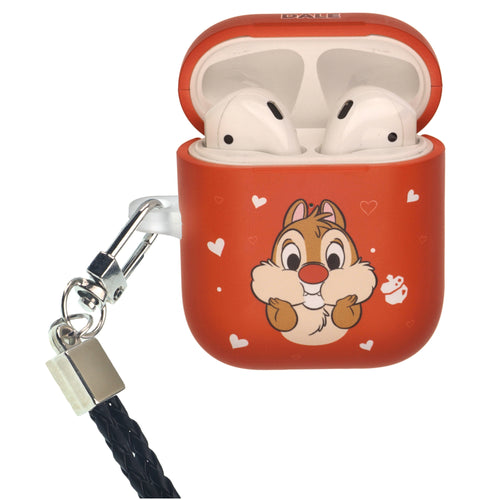 Disney AirPods Case Neck Lanyard Protective Hard PC Shell Strap Hole Cover - Dale