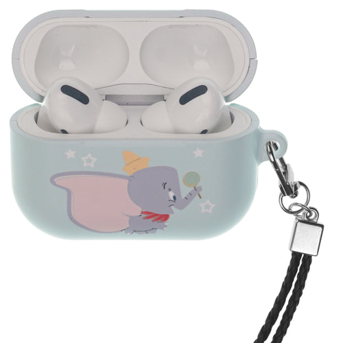 Disney AirPods Pro Case Neck Lanyard Hard PC Shell Strap Hole Cover - Dumbo Candy