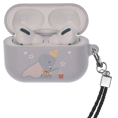 Disney AirPods Pro Case Neck Lanyard Hard PC Shell Strap Hole Cover - Dumbo Popcorn