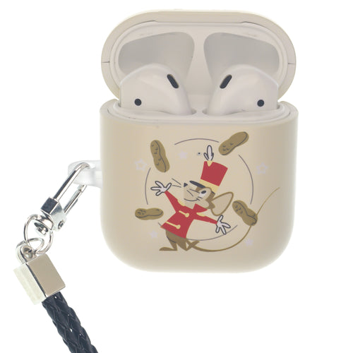 Disney AirPods Case Neck Lanyard Hard PC Shell Strap Hole Cover - Dumbo Timothy