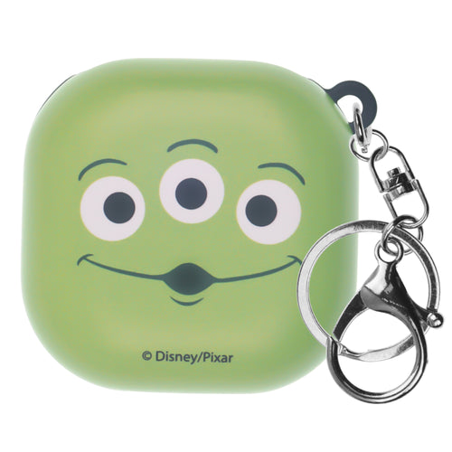 Toy Story Galaxy Buds Live Case (2020) Key Ring Keychain Key Holder Hard PC Shell Cover - Face Aliens