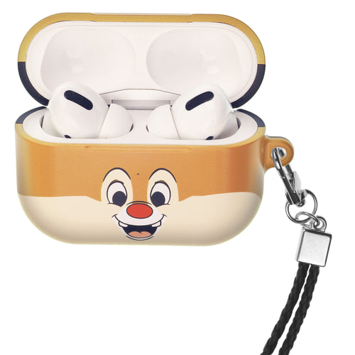 Disney AirPods Pro Case Neck Lanyard Hard PC Shell Strap Hole Cover - Face Dale