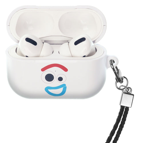 Disney AirPods Pro Case Neck Lanyard Hard PC Shell Strap Hole Cover - Face Forky