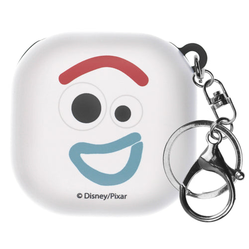 Toy Story Galaxy Buds Live Case (2020) Key Ring Keychain Key Holder Hard PC Shell Cover - Face Forky