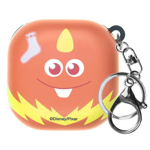 Monsters, Inc., Galaxy Buds Live Case (2020) Key Ring Keychain Key Holder Hard PC Shell Cover - Face George Sanderson Socks