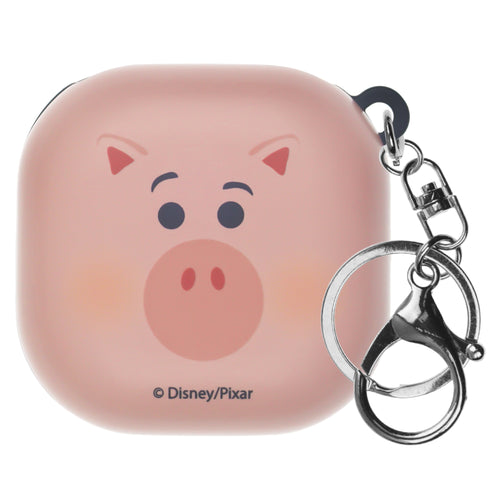 Toy Story Galaxy Buds Live Case (2020) Key Ring Keychain Key Holder Hard PC Shell Cover - Face Hamm