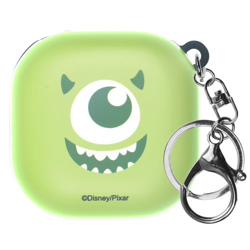 Monsters, Inc., Galaxy Buds Live Case (2020) Key Ring Keychain Key Holder Hard PC Shell Cover - Face Mike