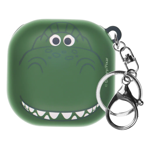 Toy Story Galaxy Buds Live Case (2020) Key Ring Keychain Key Holder Hard PC Shell Cover - Face Rex