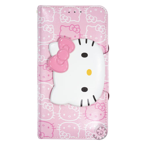 iPhone 6S / iPhone 6 Case (4.7inch) HELLO KITTY Diary Wallet Flip - Button Face Baby Pink