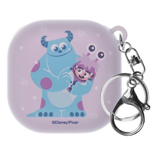 Monsters, Inc., Galaxy Buds Live Case (2020) Key Ring Keychain Key Holder Hard PC Shell Cover - Full Boo