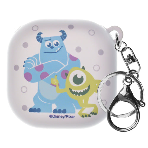 Monsters, Inc., Galaxy Buds Live Case (2020) Key Ring Keychain Key Holder Hard PC Shell Cover - Full Mike Sulley