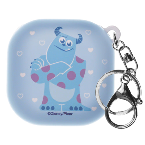 Monsters, Inc., Galaxy Buds Live Case (2020) Key Ring Keychain Key Holder Hard PC Shell Cover - Full Sulley