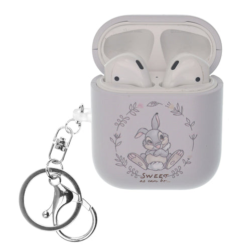 Disney AirPods Case Key Ring Keychain Key Holder Hard PC Shell Strap Hole Cover - Full Thumper
