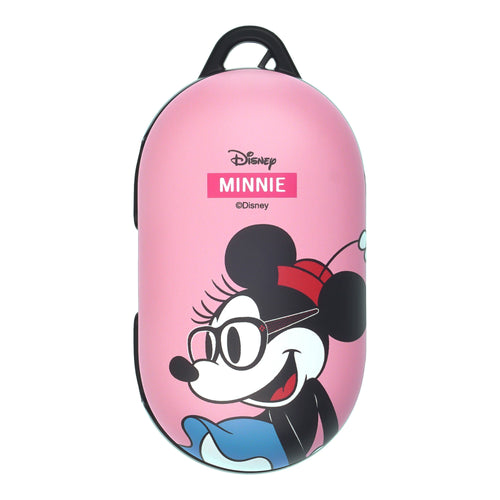 Disney Galaxy Buds Case Galaxy Buds Plus (Buds+) Case Protective Hard PC Shell Cover - Glasses Minnie Mouse