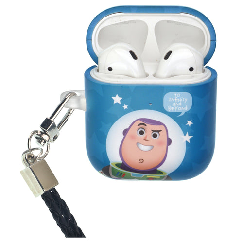 Disney AirPods Case Neck Lanyard Protective Hard PC Shell Strap Hole Cover - Greeting Buzz