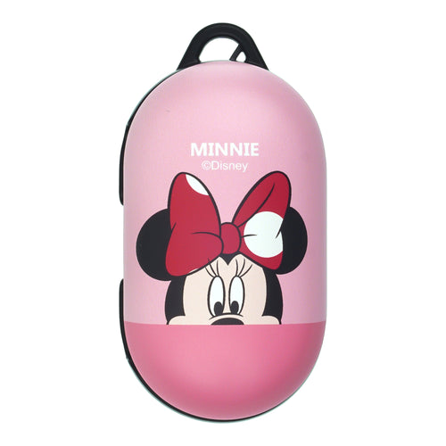 Disney Galaxy Buds Case Galaxy Buds Plus (Buds+) Case Protective Hard PC Shell Cover - Half Face Minnie Mouse