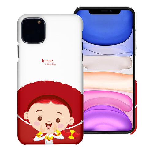 iPhone 11 Case (6.1inch) [Slim Fit] Toy Story Thin Hard Matte Surface Excellent Grip Cover - Baby Jessie